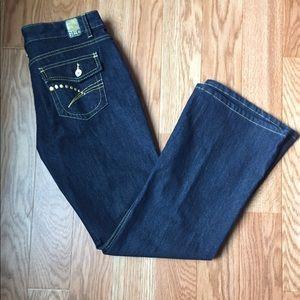NWT GLO Dark Stretch Jeans